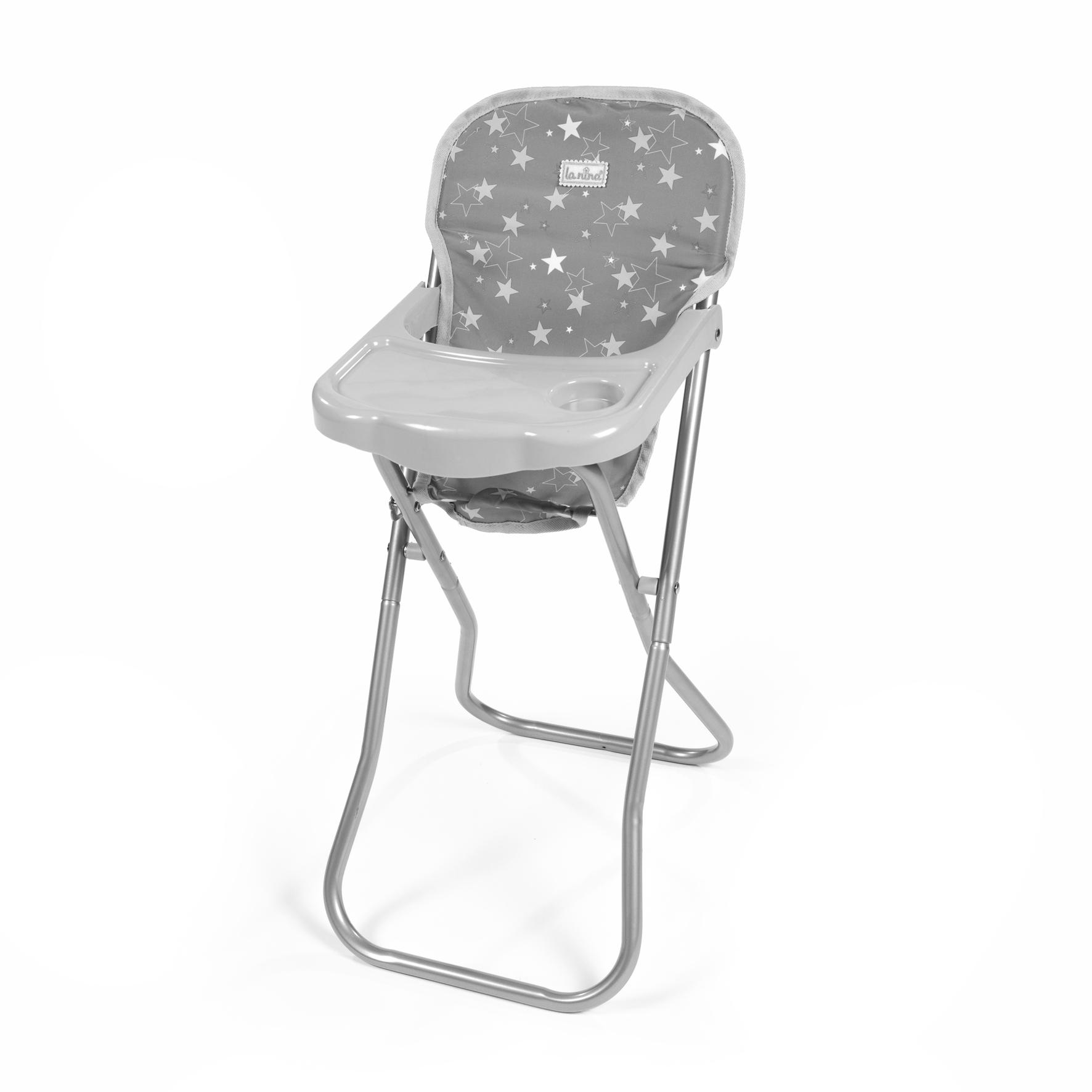 Cadeira de Comer Cinzenta
