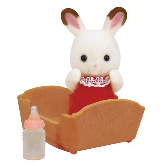 Bebé coelho chocolate