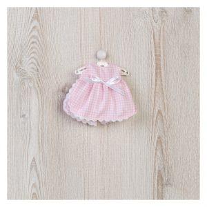 Vestido BB Quadrados Rosa